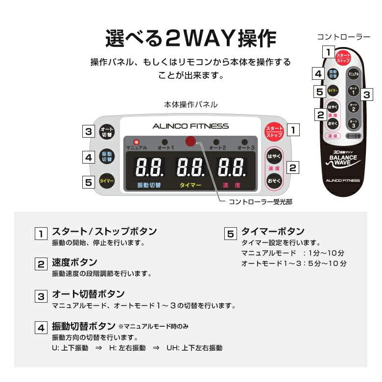 3D振動マシン バランスウェーブ/FAV3017_10
