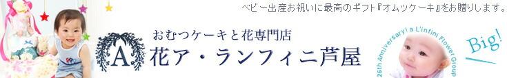おむつケーキ専門店花A芦屋 ア・ランフィニ芦屋フルーラル