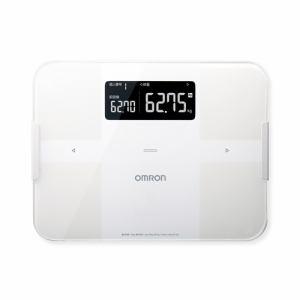 【納期約2週間】HBF-255T-W [omron オムロン] 体重体組成計 「カラダスキャン」 ホワイト HBF255TW