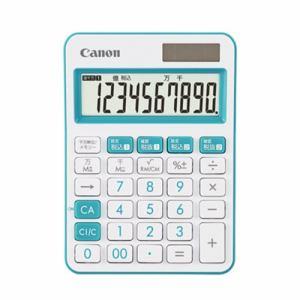 【納期約2週間】 LS-105WUC-BL Canon キャノン ミニ卓上電卓 10桁 LS105WUCBL