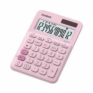 【2017年8月25日発売予定】CASIO カシオ MW-C20C-PK-N カラフル電卓(12桁) ペールピンク MWC20CPKN