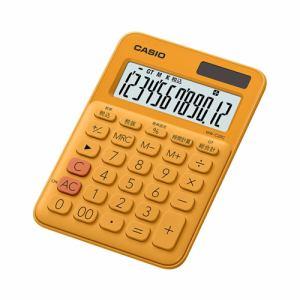 【2017年8月25日発売予定】CASIO カシオ MW-C20C-RG-N カラフル電卓(12桁) オレンジ MWC20CRGN