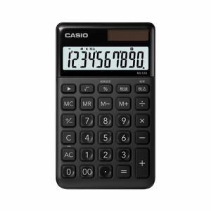 【2017年8月25日発売予定】CASIO カシオ NS-S10-BK-N スタイリッシュ電卓(10桁) ブラック NSS10BKN