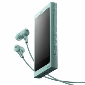 【納期約7~10日】SONY ソニー NW-A45HN-G 【ハイレゾ音源対応】 ウォークマン Aシリーズ[メモリータイプ] ヘッドホン付属モデル 16GB ホライズングリーン NWA45HNGM