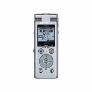 【納期約7~10日】olympus オリンパス DM-750-SLV 2マイクノイズキャンセル搭載ICレコーダー 「Voice‐Trek」 4GB シルバー DM750SLV