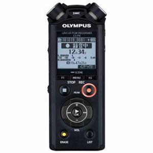 【納期約7~10日】olympus オリンパス LS-P4-BLK 【ハイレゾ音源対応】リニアPCMレコーダー 8GB ブラック LSP4BLK