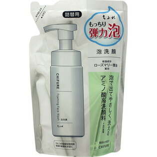 【納期約1~2週間】ちふれ化粧品 ちふれ 泡洗顔 詰替用 180ml