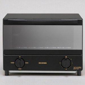【納期約1~2週間】アイリスオーヤマ KSOT-011-B スチームオーブントースター 2枚焼き ブラック KSOT011B