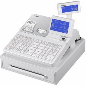 【納期約7~10日】CASIO カシオSR-S4000-20SWEレジスターホワイト SRS400020SWE