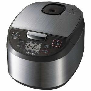 【納期約1ヶ月以上】SHARP シャープ KS-S10J-S ジャー炊飯器(5.5合炊き) シルバー系 KSS10J