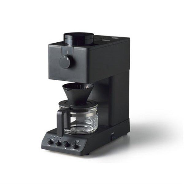 【納期約2週間】ツインバード CM-D457B 全自動コーヒーメーカー 3杯分 ブラック CMD457B