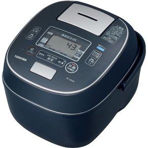 【納期約1ヶ月以上】TOSHIBA 東芝 RC-10VSN-L 真空圧力IHジャー炊飯器(5.5合炊き) インディゴブルー 合わせ炊き RC10VSNL