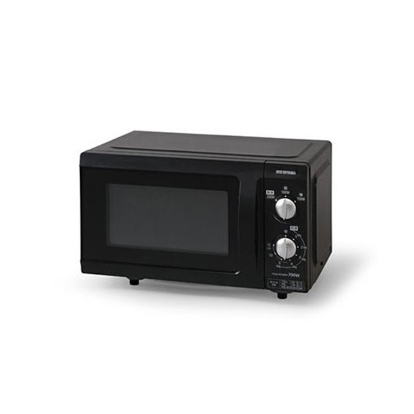 【納期約1~2週間】アイリスオーヤマ EMO-F518-6 電子レンジ 18L フラットテーブル 60Hz ブラック EMOF5186