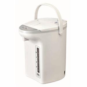 【納期約1~2週間】ピーコック WZP-30 電気ケトル  3.0L ホワイト WZP30W