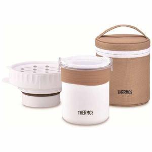 【納期約1~2週間】THERMOS サーモス JBS-360-WH ごはんが炊ける弁当箱 JBS360WH