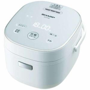 【納期約3週間】SHARP シャープ KS-CF05B-W マイコン炊飯器 3合炊き ホワイト系 KSCF05BW