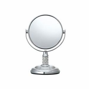 【納期約7~10日】ビジョーナ KBE-3050/S 拡大鏡(引き寄せミラー) 卓上タイプ 丸型 KBE3050S