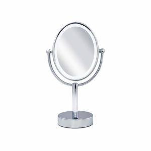 【納期約7~10日】KOIZUMI コイズミ KBE-3110-S 楕円型 LED拡大鏡(両面卓上)5倍 KBE3110S