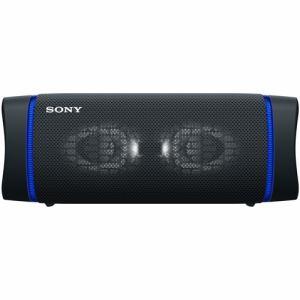 【納期約2週間】SONY ソニー SRS-XB33 BC ワイヤレスポータブルスピーカー ブラック SRSXB33B B