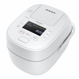 【納期未定入荷次第発送】Panasonic パナソニック SR-MPW100 IHジャー炊飯器 Wおどり炊き 5.5合 ホワイト SRMPW100 W