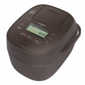 【納期未定入荷次第発送】Panasonic パナソニック SR-MPA100 IHジャー炊飯器 5.5合 ブラウン SRMPA100 T