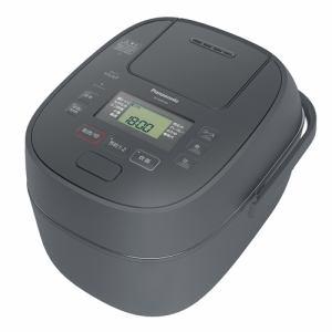 【納期未定入荷次第発送】Panasonic パナソニック SR-MBP100 IHジャー炊飯器 5.5合 グレー SRMPB100 H