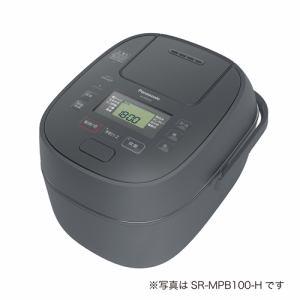 【納期未定入荷次第発送】Panasonic パナソニック SR-MPB180 IHジャー炊飯器 1升 グレー SRMPB180 H