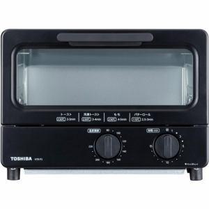 【納期約7~10日】TOSHIBA 東芝 HTR-P3(K) オーブントースター ブラック HTRP3
