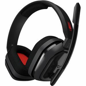 【納期約2週間】ロジクール A10-PCGR Logicool G Astro A10 Headset PC グレー/レッド A10PCGR