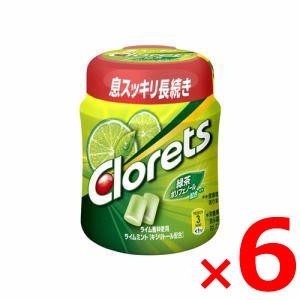 【納期約2週間】(155325)モンデリーズ クロレッツXPライムミントボトルR 140g×6個セット クロレツツXPライムミントボトル