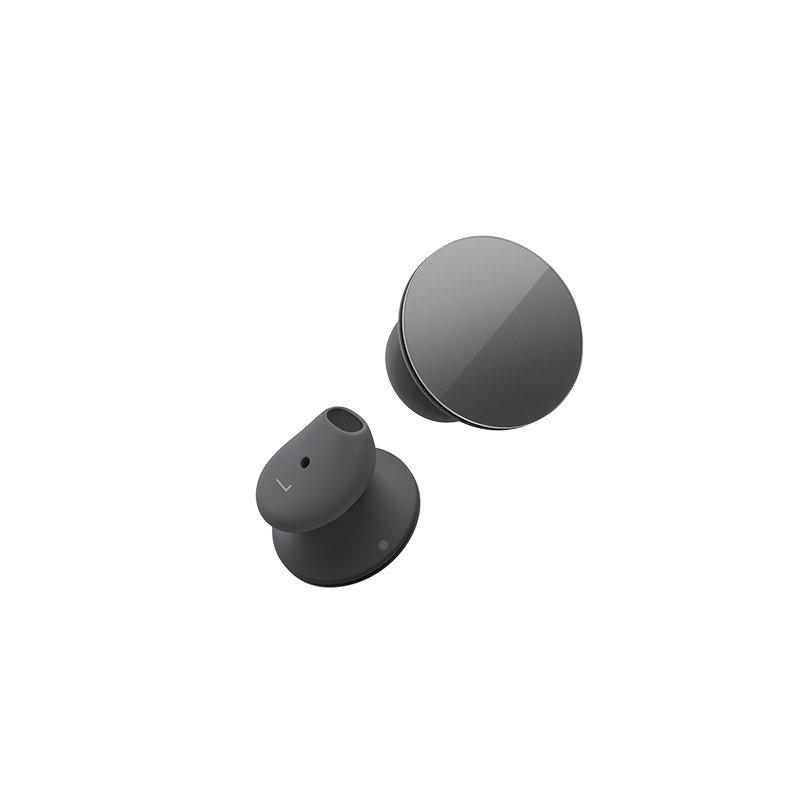 【納期約2週間】HVM-00015 Microsoft マイクロソフト Surface Earbuds ダークグレー グラファイト HVM00015 EARBUDS