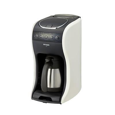 【納期約1ヶ月以上】ACT-E040WM TIGER タイガー コーヒーメーカー クリームホワイト 真空ステンレスサーバー ACTE040WM