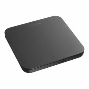 【納期約2週間】アイ・オー・データ機器 DVRP-U8ZK USB 2.0対応 ポータブルDVDドライブ ブラック DVRPU8ZK