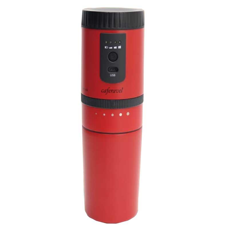 【納期約2週間】オールインワンコーヒーメーカー カフェラベル MEK-83 レッド
