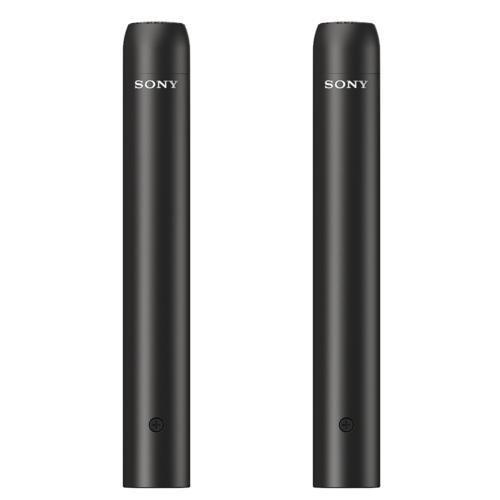 【納期約2週間】【代引き不可】SONY ソニー ECM-100NMP エレクトレットコンデンサーマイクロホン(ステレオペア2本セット) ECM100NMP