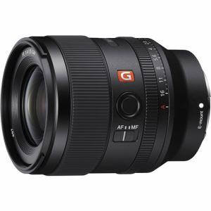 【納期約2週間】【代引不可】SONY ソニー SEL35F14GM 一眼カメラレンズ デジタル一眼カメラα[Eマウント]用レンズ FE 35mm F1.4 GM ブラック