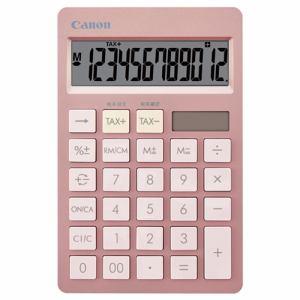 【納期約7~10日】Canon キヤノン HS-1200TC-PK SOB 電卓 ピンク HS1200TCPK
