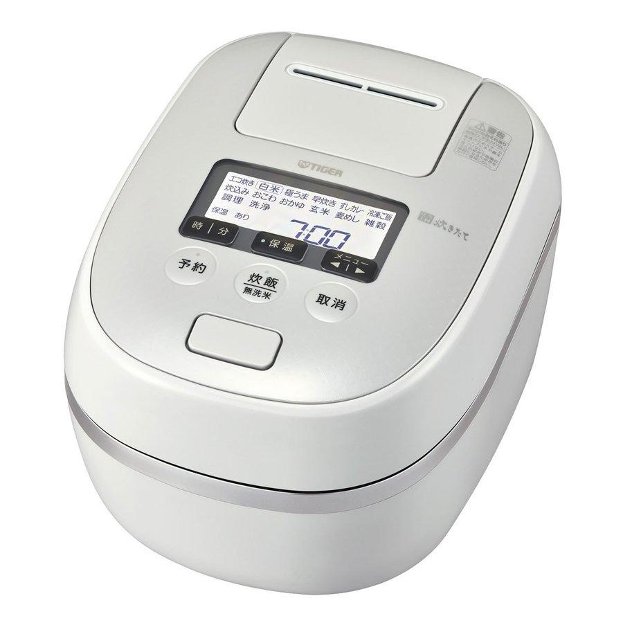 【2020年12月1日発売予定】JPD-G060WG TIGER タイガー 圧力IHジャー炊飯器(3.5合炊き) オーガニックホワイト ご泡火炊き JPDG060WG