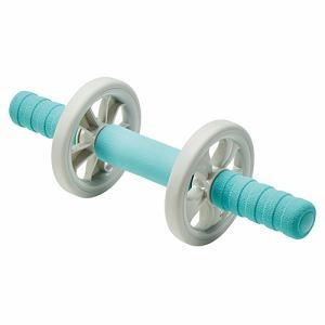 【納期約2週間】ELECOM エレコム HCF-ARWBUL エクリアスポーツ 腹筋ローラー 幅広タイプ マット付 ブルー HCFARWBUL