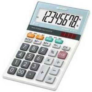 【納期約7~10日】SHARP シャープ EL-M720-X グラストップデザイン電卓 8桁 ELM720X