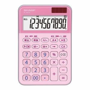 【納期約7~10日】SHARP シャープ EL-M335-PX ミニナイスサイズ電卓 ピンク系 ELM335PX