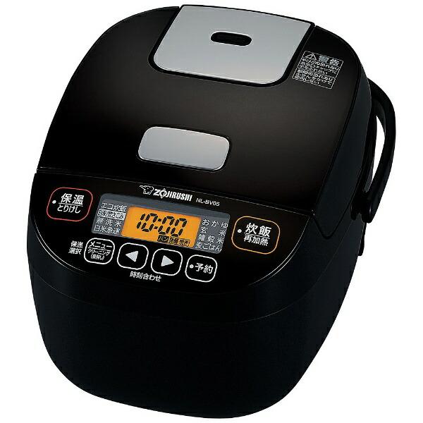 【2021年1月21日発売予定】ZOJIRUSHI 象印 NL-BV05-BA 小容量マイコン炊飯ジャー 3合炊き ブラックNLBV05 BA