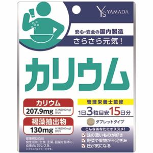 【納期約2週間】医食同源ドットコム Ys カリウム 45粒