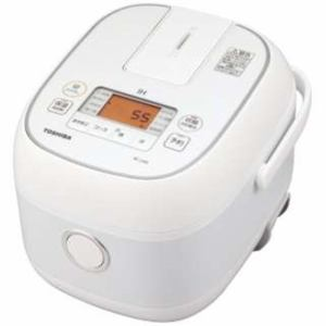 【納期約7~10日】TOSHIBA 東芝 RC-5XN-W ホワイト IH炊飯器 3合炊き RC5XN