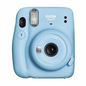【納期約2週間】富士フイルム INSTAXMINI11 BLU チェキカメラ ブルー