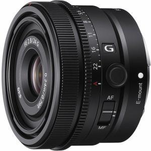 【納期約3週間】SONY ソニー SEL24F28G デジタル一眼カメラα[Eマウント]用レンズ FE 24mm F2.8 G ブラック SEL24F28G SEL24F28G