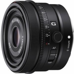 【納期約2週間】SONY ソニー SEL40F25G デジタル一眼カメラα[Eマウント]用レンズ FE 40mm F2.5 G ブラック SEL40F25G SEL40F25G