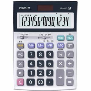 【納期約2週間】CASIO カシオ DS40DC 電卓 CASIO 14桁デスク