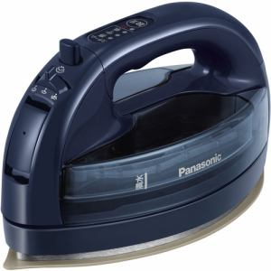 【納期約3週間】Panasonic パナソニック NI-WL506-A コードレススチームアイロン ダークブルー NIWL506