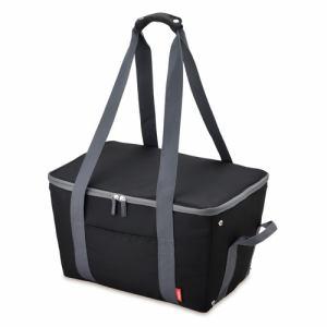 【納期約7~10日】THERMOS(THERMOS サーモス) REJ-025-BK 保冷買い物カゴ用バッグ ブラック